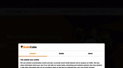 scalacube.com - scalacube  game server hosting