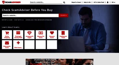 scamadviser.com -