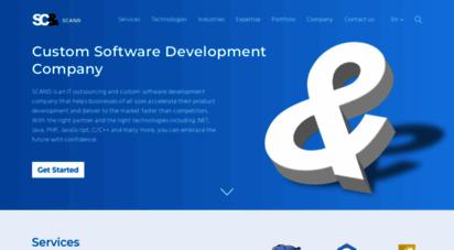 scand.com - custom software development company  scand