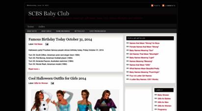 scbsfm.blogspot.com - scbs baby club