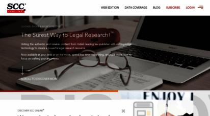 scconline.com - scc online®  the surest way to legal research