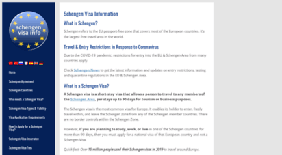schengenvisainfo.com - schengen visa - comprehensive information about europe visa