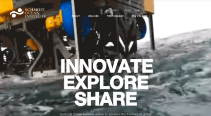 schmidtocean.org - schmidt ocean institute