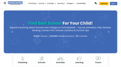schoolmykids.com - schoolmykids - parenting, reviews, find schools, colleges
