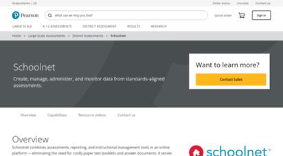 schoolnet.com - large-scale ssssment  schoolnet