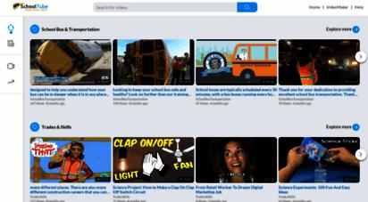 schooltube.com - schooltube - safe video sharing and management for k12