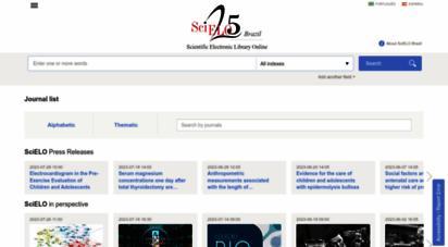 scielo.br - scielo - scientific electronic library online
