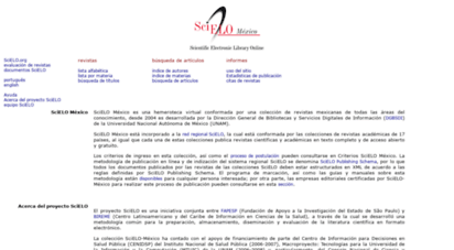 scielo.org.mx - scielo - scientific electronic library online
