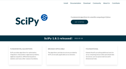 scipy.org - scipy.org — scipy.org