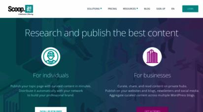 scoop.it - scoop.it - content curation tool  scoop.it