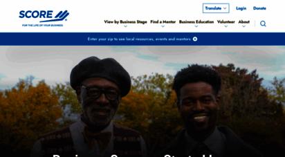 score.org - homepage  score