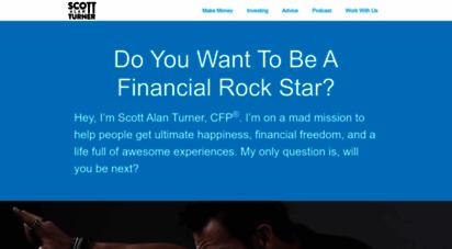 scottalanturner.com - home - get out of debt, save more money, and retire early  scott alan turner