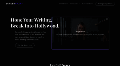 screencraft.org - screencraft - screenwriting competitions and talent discovery