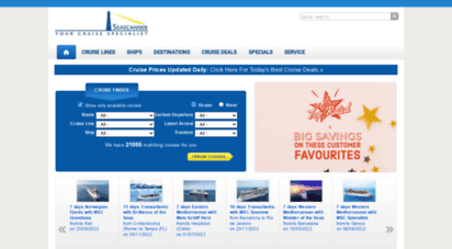 seascanner.com - book your cruise online