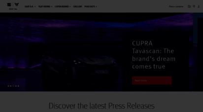 seat-mediacenter.com - homepage