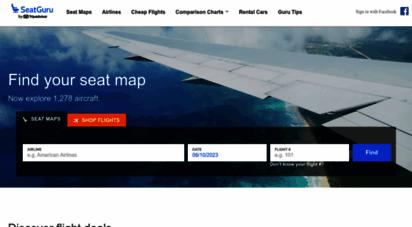 seatguru.com - airline seat maps, flights shopping and flight information- best airplane seats - seatguru