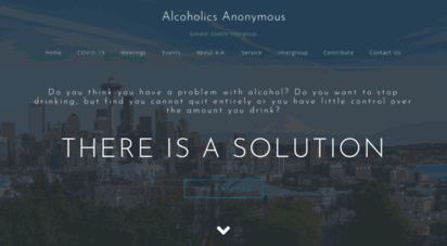 seattleaa.org - the greater seattle intergroup of alcoholics anonymous