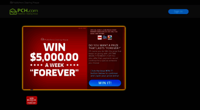 Welcome to Secure pch com - Free Online Sweepstakes & Contests | PCH com