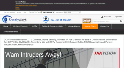 Welcome to Securitywatch ie - HD CCTV Cameras, HD CCTV