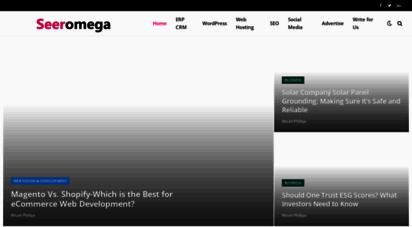 seeromega.com - technology blog -wordpress, hosting, blogging, web, seo seeomega