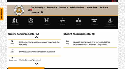 selcuk.edu.tr -