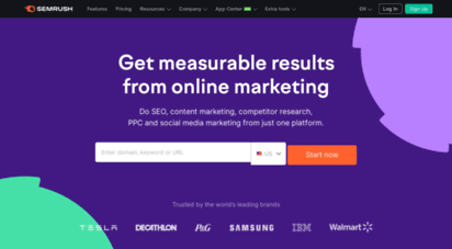 semrush.com - semrush - online visibility management platform
