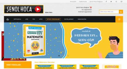 senolhoca.com - matematik konu anlatımı şenol hoca