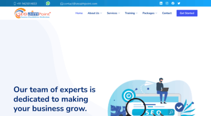 seoaimpoint.com - seo company in bhopal  seo services  digital marketing agency