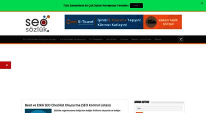 seosozluk.com - seo ve dijital pazarlama blogu - seo sözlük