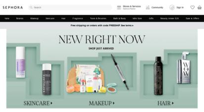sephora.com - sephora deutschland  make-up, pflege, kosmetik und düfte