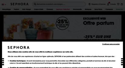 sephora.fr - sephora ≡ maquillage ⋅ parfum ⋅ soin ⋅ beauté