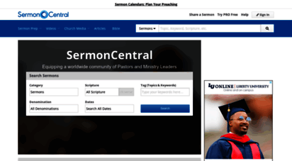 sermoncentral.com - free sermon preparation tools, sermon illustrations, church preaching slides and videos, and preaching articles for biblical messages from sermon central. - sermoncentral.com