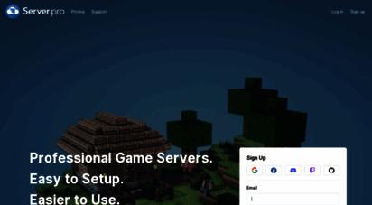 server.pro - server.pro  professional game server hosting