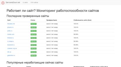 serviceisdown.net -