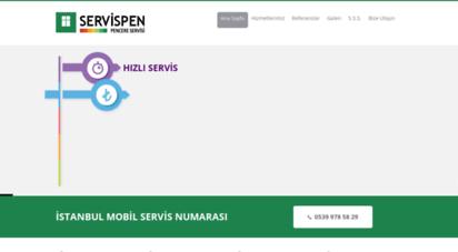 servispen.com - servispen  istanbul mobil pencere servisi