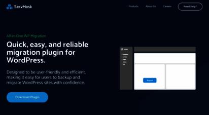 servmask.com - all-in-one wp migration plugin  servmask inc.