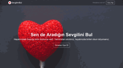 sevgilimibul.com -