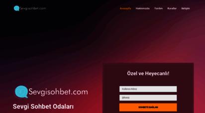 sevgisohbet.com - sevgisohbet.com - bedava sohbet odaları chat mobil sohbet siteleri