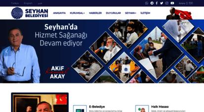 seyhan.bel.tr - .: adana seyhan ilçe belediyesi - resmi web sitesi :.