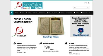 sezgiler.com