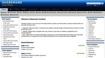 sharewarejunction.com - welcome to shareware junction - free software downloads!