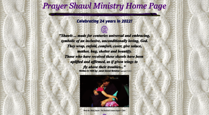 shawlministry.com - welcome to the prayer shawl ministry www.shawlministry.com