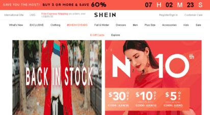 shein.com - shop trendy women´s fashion  womens clothing  shein usa