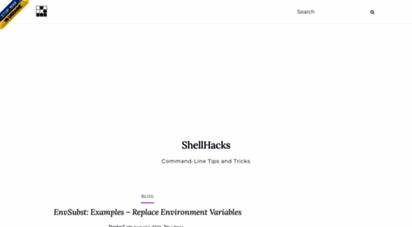 shellhacks.com - shellhacks - command-line tips and tricks