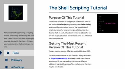 shellscript.sh - the shell scripting tutorial