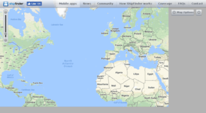 shipfinder.co - ship finder  live marine traffic  ais ship tracker and tracking