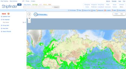 shipfinder.com - live ais ships map!-shipfinder