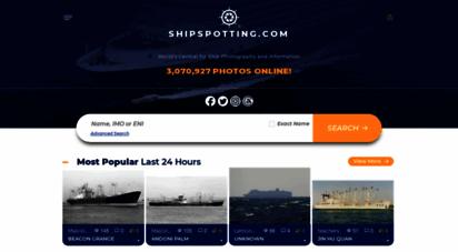 shipspotting.com - home - shipspotting.com - ship photos and ship tracker
