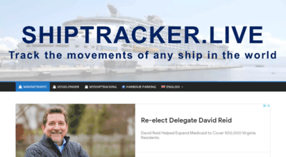 shiptracker.live - marinetraffic - worldwide ship and yacht tracking in real-time