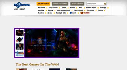 shockwave.com - games  free online games & download games  play games on shockwave